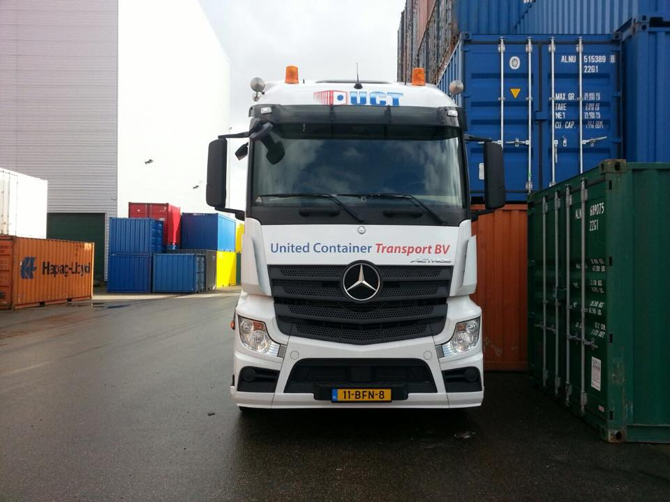 Vacature oplegger voor containervervoer Spoedkoerier-Westland